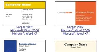 Microsoft Office Word Business Card Template Business Card Template Microsoft Word Beepmunk
