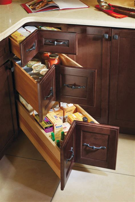 deep drawer cabinet decora cabinetry three corner drawer base cabinet decora cabinetry