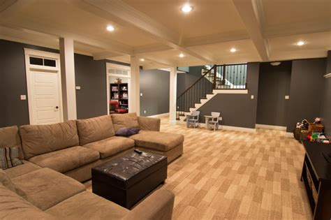 mullaghmore drive traditional basement  metro