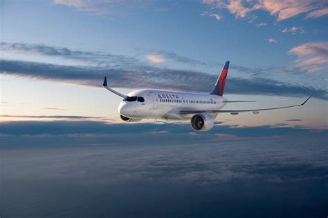 painting delta delta orders state of fuel efficient bombardier c