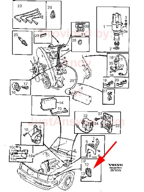 Fuel System Volvo 240 Volvo 240 Wiring Diagram For Alternator Volvo Get Free