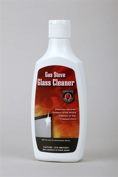 gas stove glass cleaner gas fireplace glass cleaner