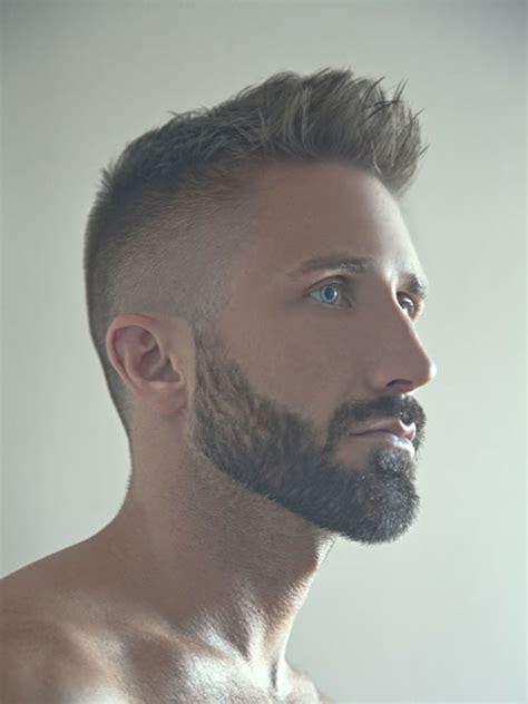 corte de barbas cabelo curto barba moda masculina
