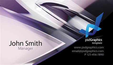 Photoshop Business Card Templates Technology by Abstract Hi Tech Design Business Card Template Printriver 169
