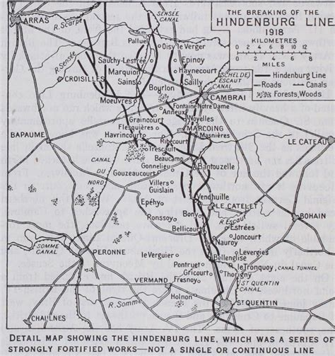 the hindenburg line 1918 the battle of the st quentin canal or how the hindenburg