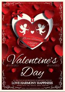 free valentines day flyer templates invitation template