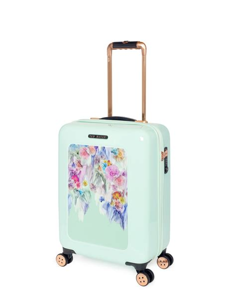beautiful suitcases ted baker small sugar sweet floral suitcase in floral