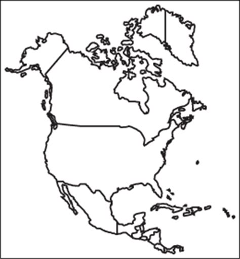 blank political map of america blank political map of america