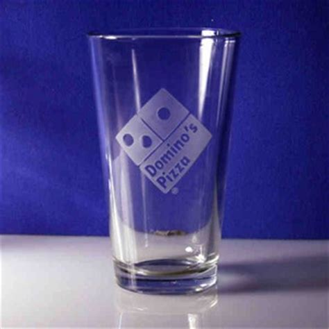 Decorated Pint Glasses by Dimpled Pint Glasses Custom Decorated With Your Logo