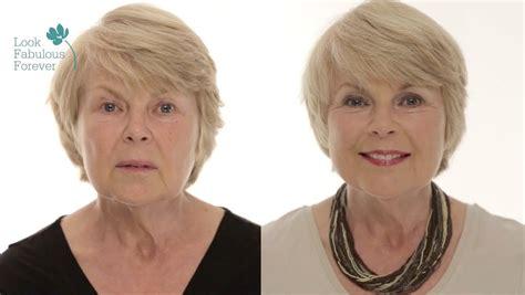 makeover at 60 makeup tutorial for older women face makeup for a fresh