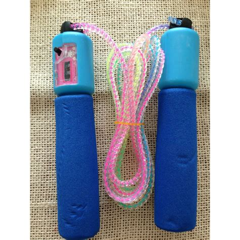 Tali Skipping jump rope skipping counting rope tali skipping blue jakartanotebook
