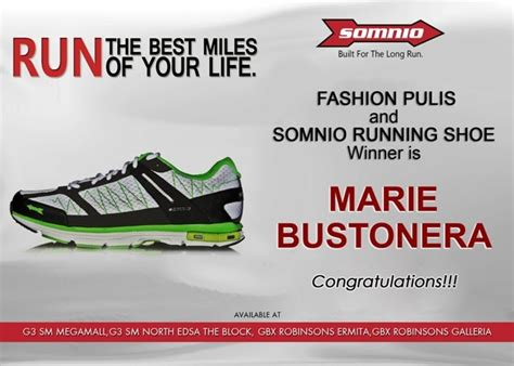 Congratulations To The Winners Of Our For Fashion Giveaway by Fashion Pulis Congratulations To The Winner Of The Somnio