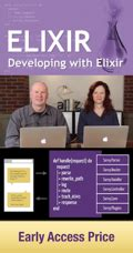 functional web development with elixir otp and rethink the modern web app books rails angular developing with elixir otp course