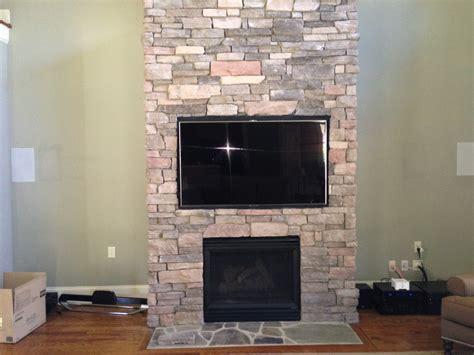 Flat Screen Tv Mounted Fireplace by Flat Screen Installation On A Brick Wall Or Fireplace