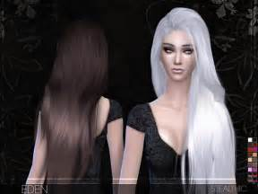 the sims 4 hair eden female hair by stealthic at tsr 187 sims 4 updates