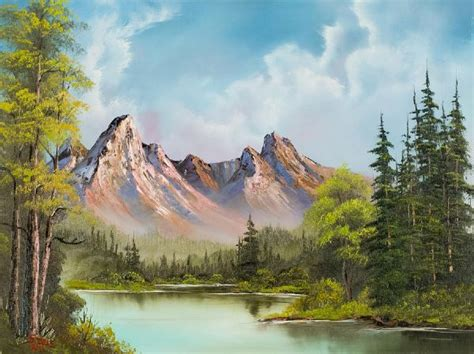 bob ross painting mountain ridge meer dan 1000 afbeeldingen bob ross paintings op