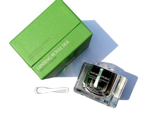 Nature Republic Ginseng Royal Silk Watery 1ml buy nature republic ginseng royal silk watery 60 ml total special set whitening and