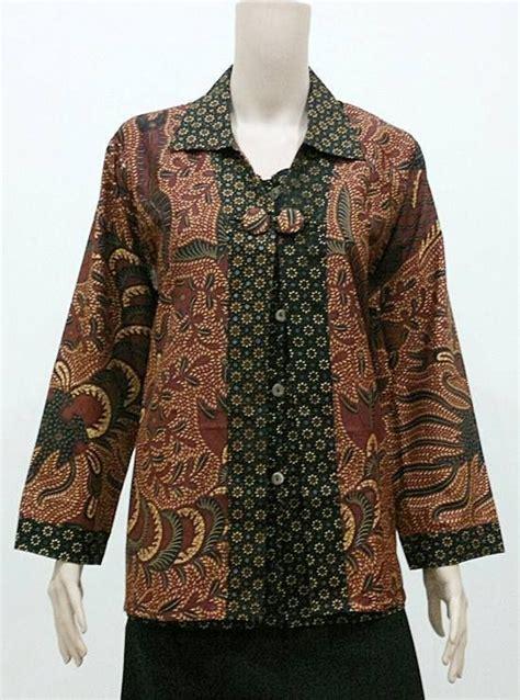 Baju Fashion Wanita Cewek B Jkt10 17 best images about batik blouse kerja november 2015