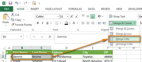 how to combine single and two column formats on the same combine columns in excel without losing data 3 quick ways