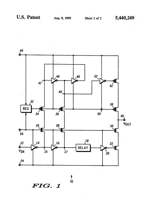 transistor translate patent us5440249 voltage level translator circuit with cascoded output transistors