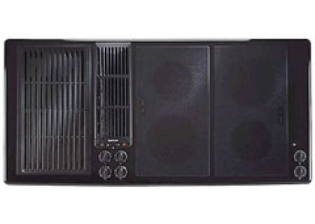 45 inch cooktop jenn air 45 quot electric downdraft cooktop jed8345adb