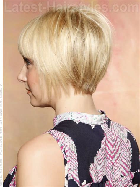 photos of short hair from backside short straight hairstyles for 2013 2014 short