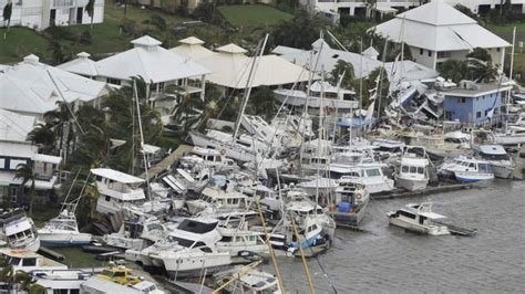 hurricane boat lettering queensland under prepared for storm surges