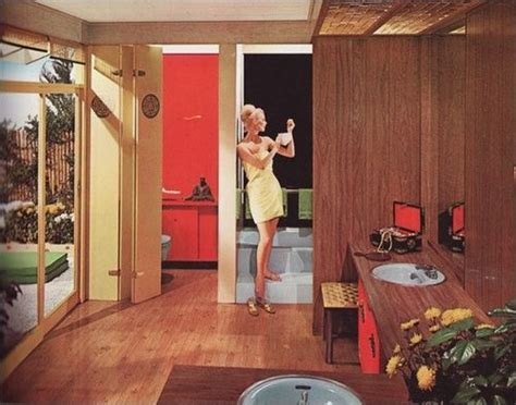 1960s bathroom design 114 best 1960s bathroom images on pinterest 1960s bathrooms decor and vintage items