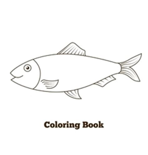 herring fish coloring page herring vector images over 4 600 vectorstock