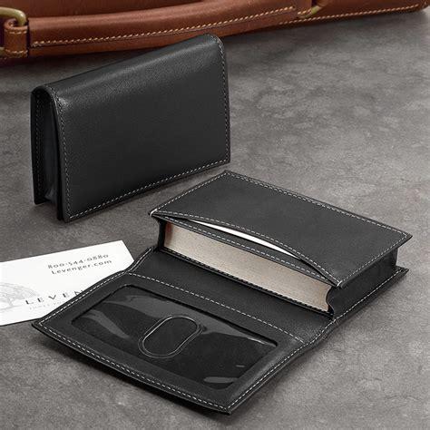 Business Card Wallet card wallet business card holder leather card holder