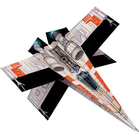 How To Make A Wars Paper Airplane - wars folded flyers out of the blue toys