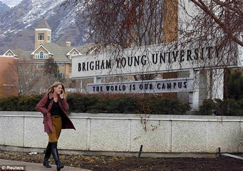 Brigham Provo Mba by Romney Enrolled At Mormon After Sweetheart