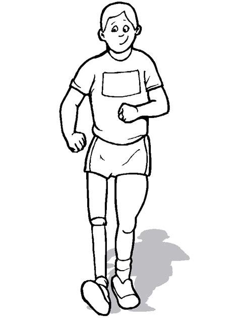 imagenes de hombres fuertes para colorear disabili disegni per bambini da colorare