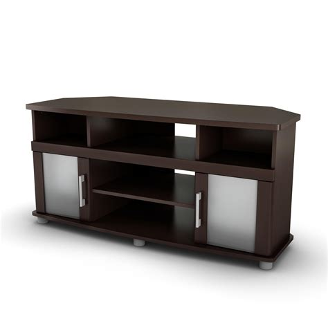 cabinet with tv rack south shore city life corner tv stand by oj commerce