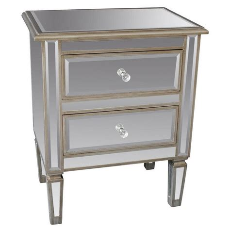 silver accent tables eden mirror antique silver accent table