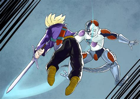trunks vs androids image gallery trunks vs