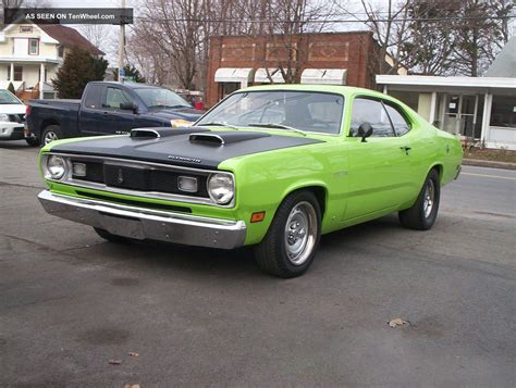 plymouth 340 duster 1970 plymouth duster 340 clone