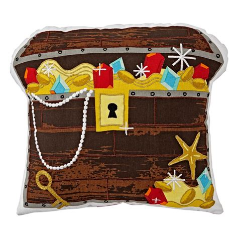 Boy Bedroom Ideas treasure chest pillow the land of nod