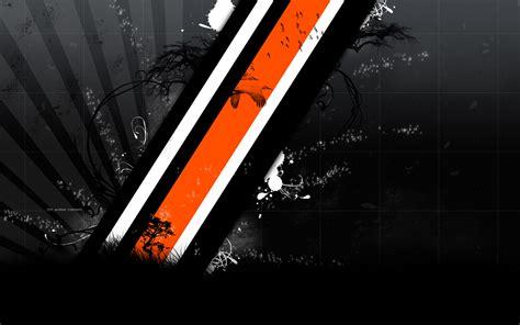 orange black design orange and white wallpaper wallpapersafari