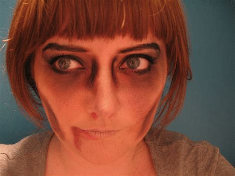 tutorial makeup zombie simple ever so juliet uk lifestyle beauty baking blog