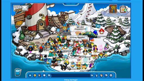 club penguin titanic sinking last moments of club penguin titanic themed youtube