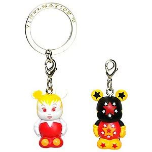 Figure Tinker Bell Key Chain Set 3aa your wdw store disney vinylmation jr keychain figure pairs 2 tinker bell