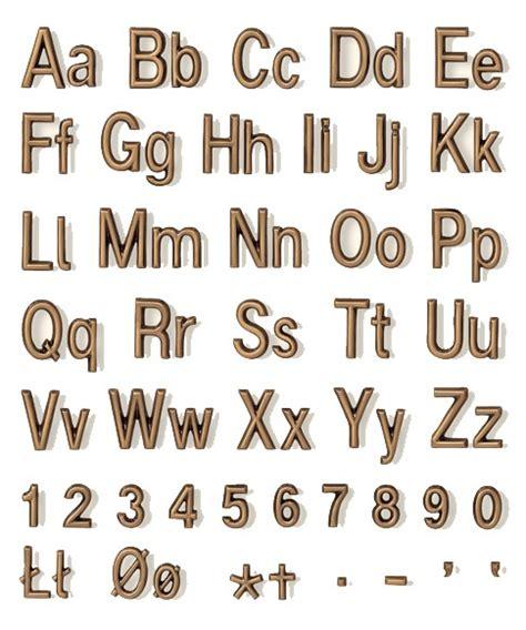 lettere in bronzo lettere in bronzo per monumenti e cimiteriali carattere duplo