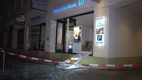 geldautomat deutsche bank geldautomat der deutschen bank in osnabr 252 ck gesprengt