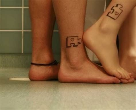 funny couple tattoos 12 funniest matching couples matching couples oddee