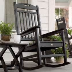 porch chairs black wooden porch rocking chairs from way fair dot