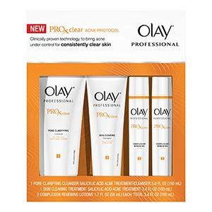 Harga Olay Pro X Clear Acne Protocol shea butter for acne for acne acne on back of neck