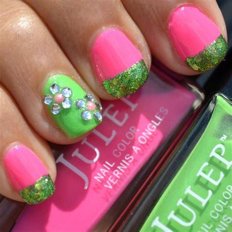 Apple Blossom Nail