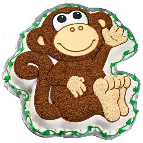 Monkey Template For Cake by Monkey Cake Wilton