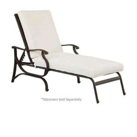 outdoor chaise lounge cushion slipcovers hton bay pembrey patio chaise lounge with cushion